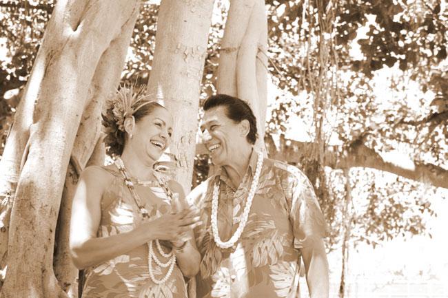 ハワイアンジュエリーペアリング・プロポーズ・婚約指輪・結婚指輪・ベビーリング